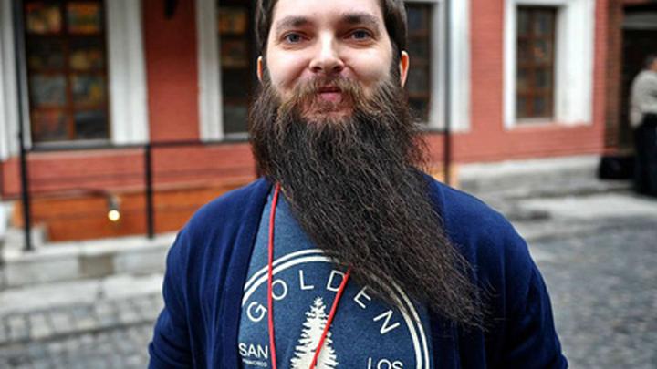 Илья Глебов, организатор Всероссийского чемпионата бород и усов (фото: Виктор Гусейнов)