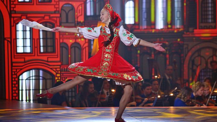 Анастасия Александрова. Русская плясовая (музыка народная)