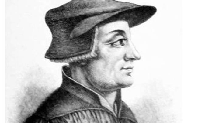 Ульрих Цвингли,  швейцарский реформатор церкви, христианский гуманист и философ