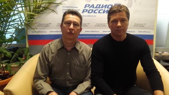 Галим Вергасов и актер,  кинорежиссер, автор и исполнитель своих песен Сергей Маховиков