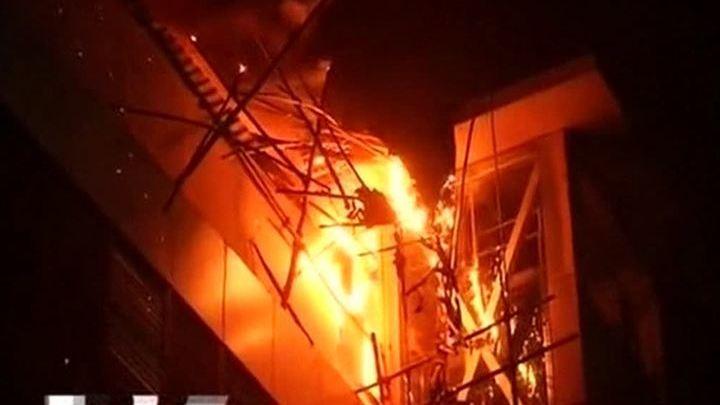 13 пациентов погибли при пожаре в госпитале в пригороде индийского Мумбаи