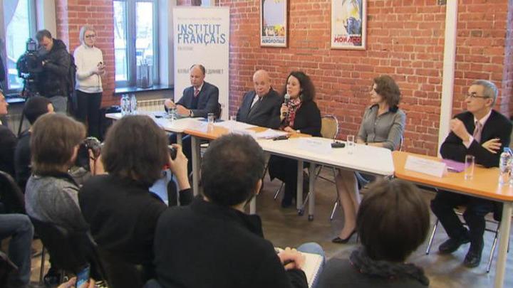 Актриса Фанни Ардан дала старт Франко-российскому году языка и литературы