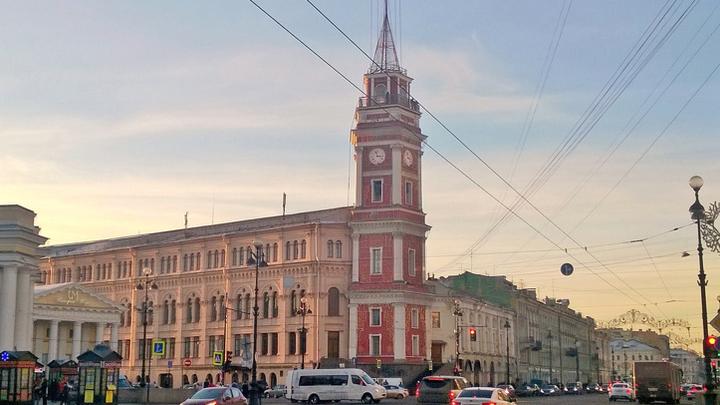 Санкт-Петербург, бывшая Государственная дума. 2018 год.