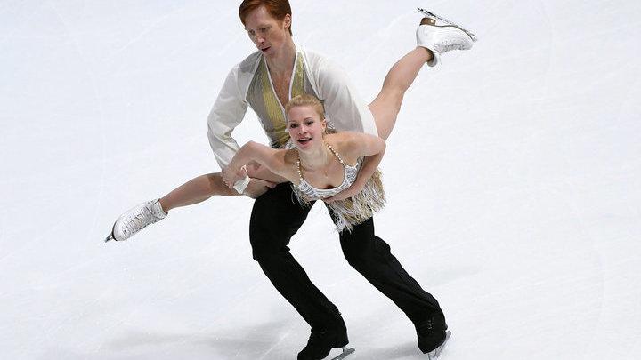 Тарасова и Морозов выиграли этап Гран-при по фигурному катанию в США в соревновании пар