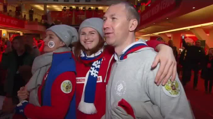 """Фильм """"Лёд"""" показали в Пхенчхане"""
