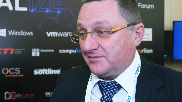 Вице-президент и генеральный директор компании Dell EMC в России, Казахстане и Центральной Азии Борис Иванович Щербаков.