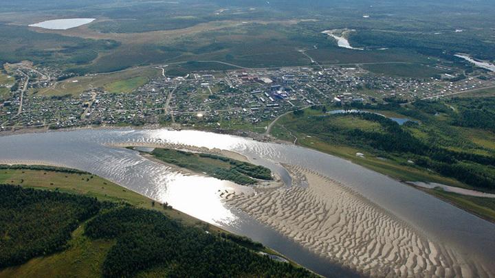 Село Саранпауль Березовского района Ханты-Мансийского автономного округа.