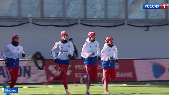 Футболисты сборной России исполнили еще одну мечту юных болельщиков