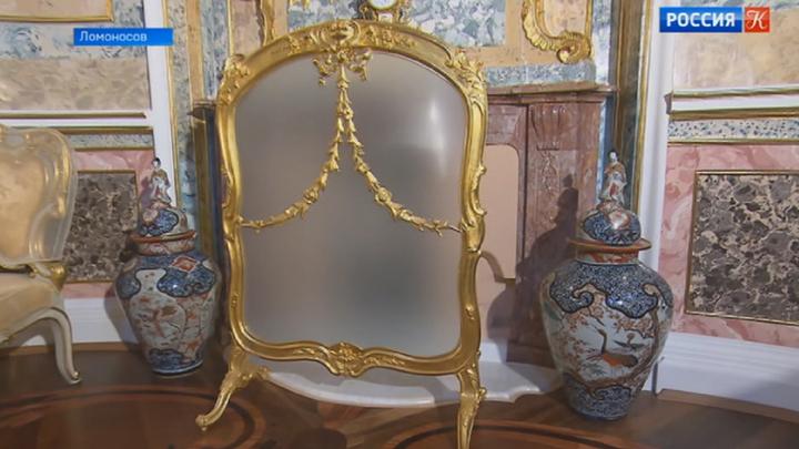 Стеклярусному кабинету Китайского дворца вернули былое величие