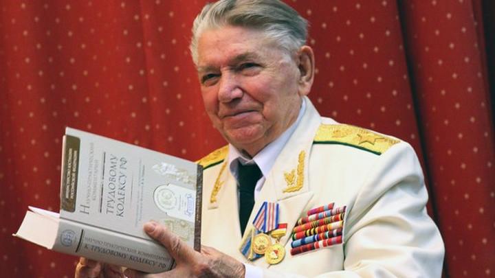 Герой нашей программы – генеральный прокурор Советского Союза Александр Яковлевич Сухарев (род.1923),