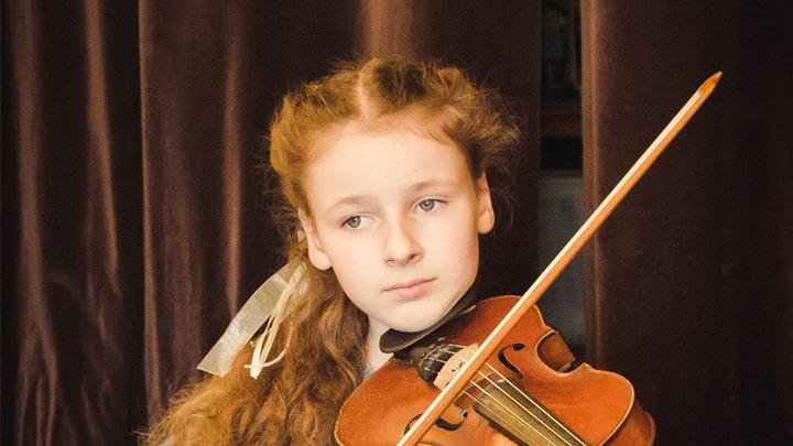 Стефания Поспехина, 11 лет, скрипка
