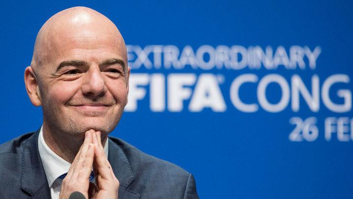 """Инфантино изумлен стремлением Катара провести """"исключительный чемпионат мира"""""""