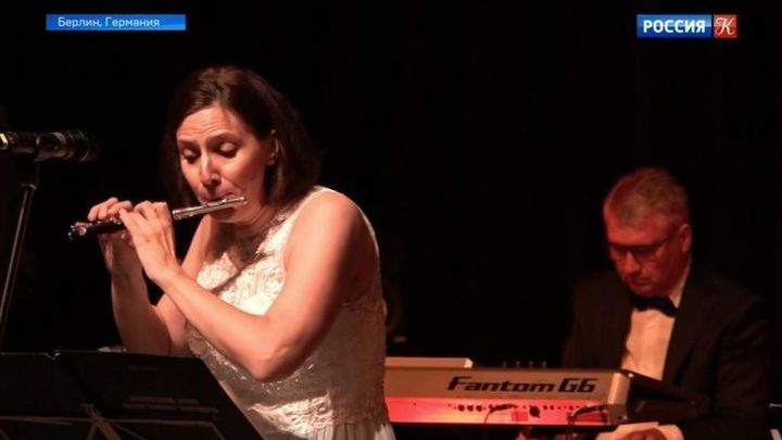 В Берлине выступили солисты Академического оркестра русских народных инструментов ВГТРК