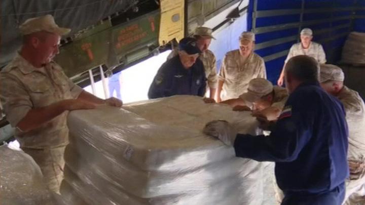 МЧС России помогло Армении доставить гуманитарную помощь в Сирию