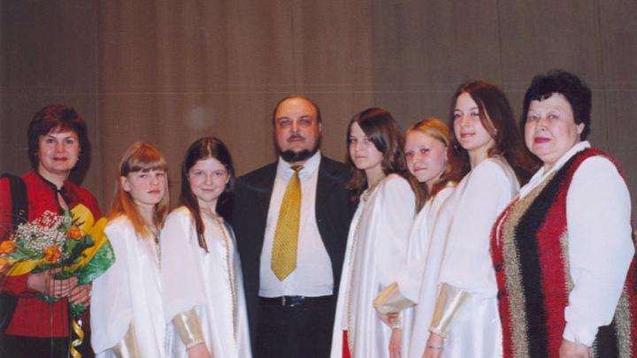 Первые ученики и их преподаватели ДМШ № 97