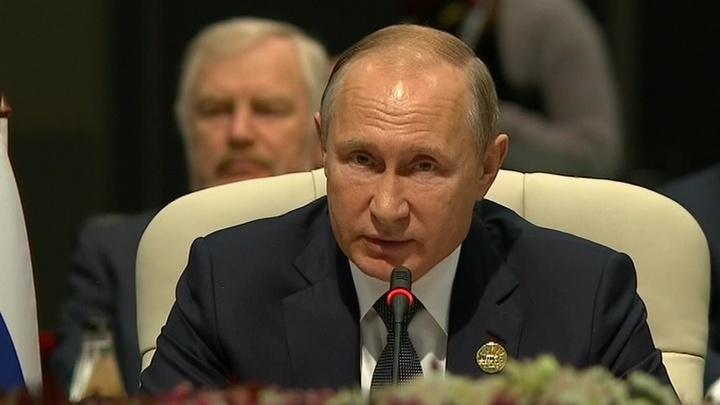 Владимир Путин принял участие в саммите БРИКС — Российская газета d78de7b8b84c4