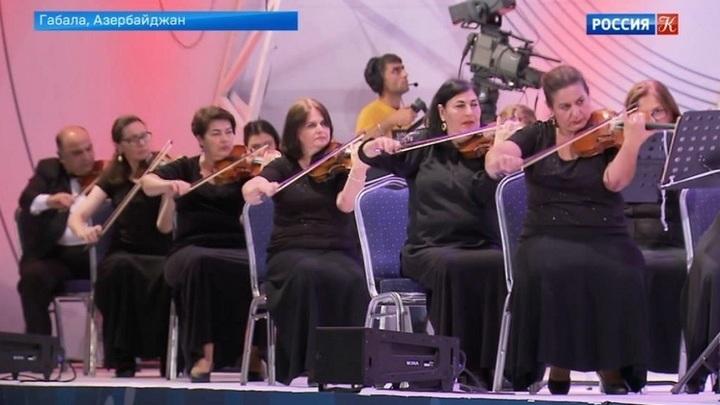 Габалинский фестиваль начал свою работу в Азербайджане
