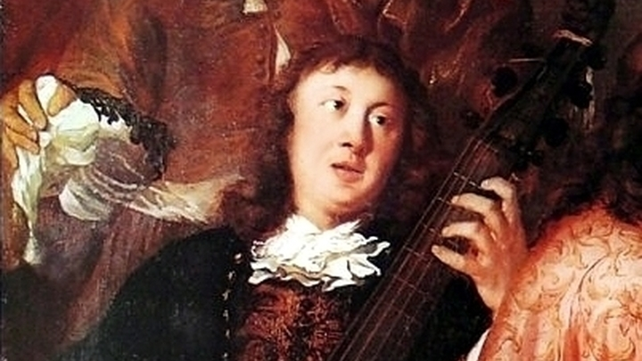 Виолончелист 18 век картина