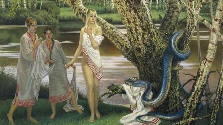 картина Бориса Ольшанского