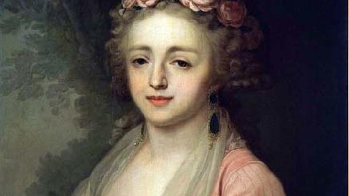 Великая княжна Александра Павловна, внучка Екатерины II