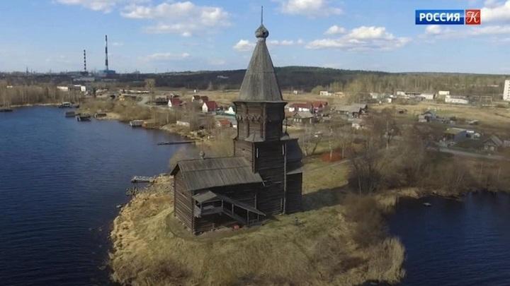В Карелии сгорела Успенская церковь