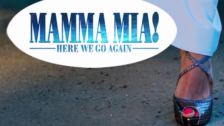 """""""Mamma Mia! Here We Go Again"""" (""""Мамма миа! Мы вернулись""""), музыкальный приквел на песнях группы ABBA."""
