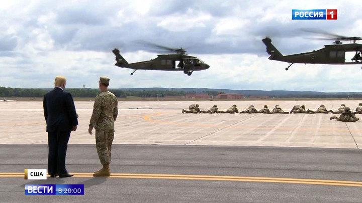 Трамп грозит военным бюджетом России и санкциями союзникам по НАТО