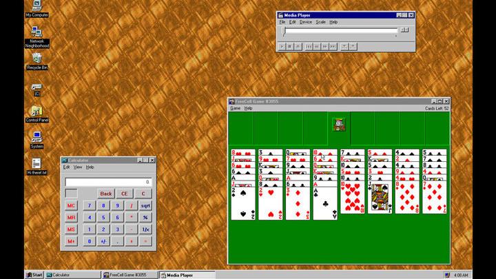 Windows 95 превратили в приложение для Windows 10, macOS и Linux
