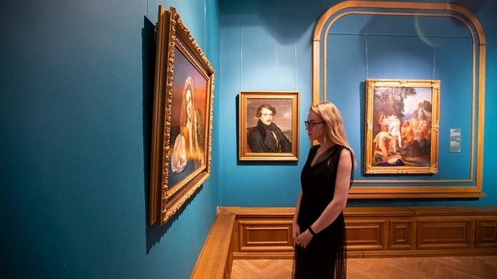 Выставка картин Карла Брюллова и его учеников открылась во Владивостоке