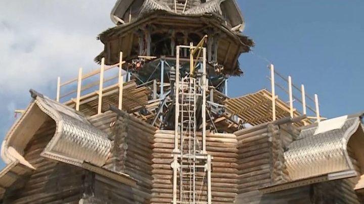 Стартовал Международный форум по сохранению памятников деревянного зодчества