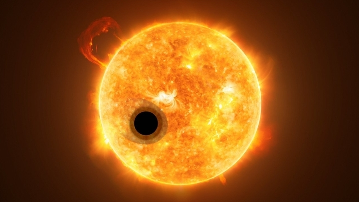 Астрономы наблюдали спектр атмосферы KELT-9b, когда она находилась между родительской звездой и телескопом.