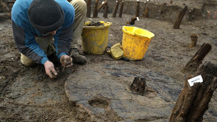 Раскопки на Маст Фарм