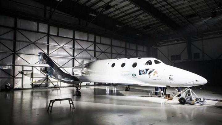 Новый космический аппарат заменит утраченный из-за аварии корабль SpaceShipTwo