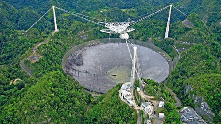 """Новые данные получены с помощью """"Аресибо"""" √ самого большого одиночного радиотелескопа в мире."""