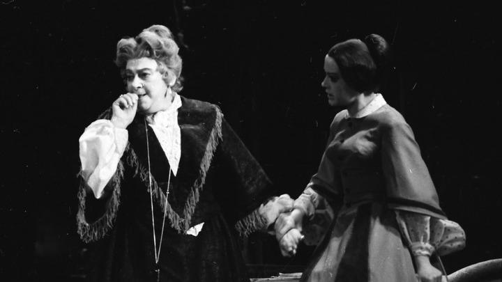 Еще раритет: «Дядюшкин сон»: Раневская и Талызина. Архив театра
