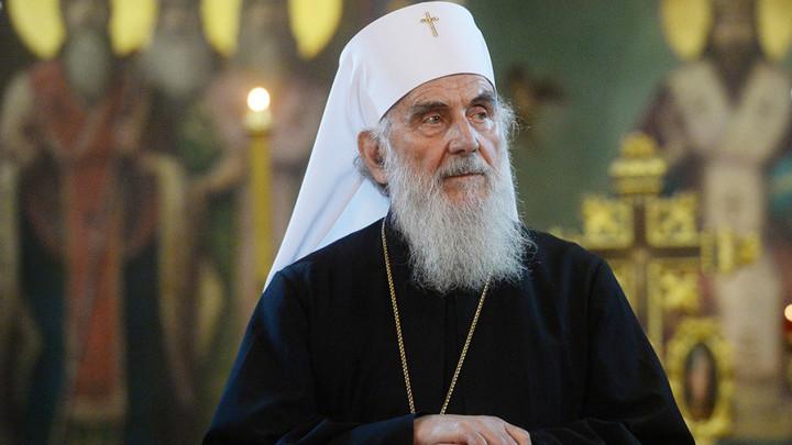 Патриарх Сербский Ириней похоронен в крипте храма святого Саввы в Белграде