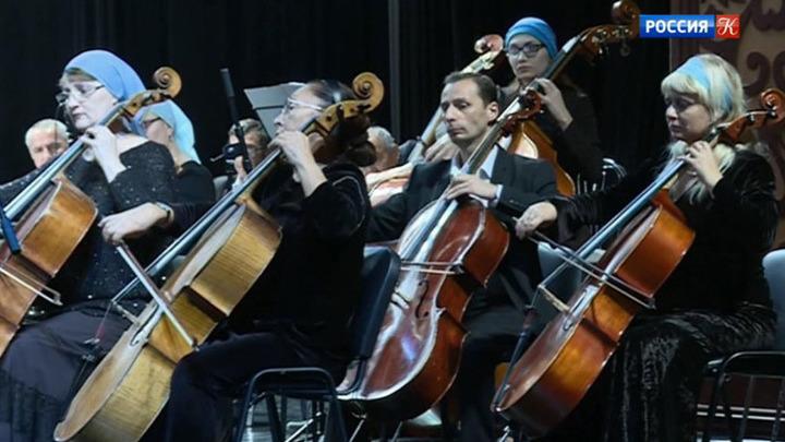 В Грозном прошел концерт Симфонического оркестра Чеченской госфилармонии