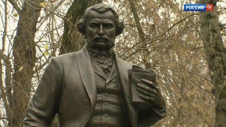 Владимир Путин открыл первый в Москве памятник Ивану Тургеневу