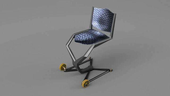 Новое кресло поможет инвалидам комфортно чувствовать себя в самолётах.