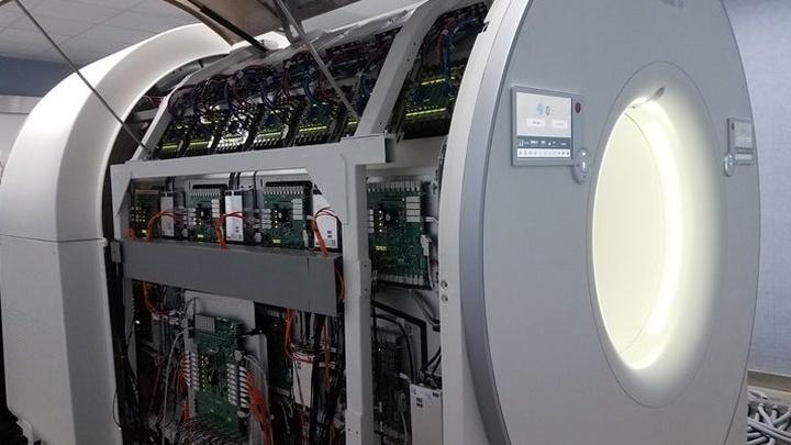 На сканирование всего человеческого тела EXPLORER тратит около 20-30 секунд.