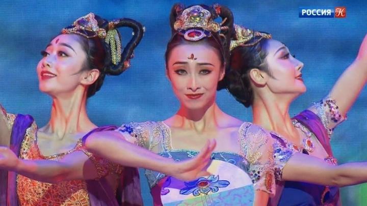 В Московском Театре Мюзикла выступили артисты из Китая