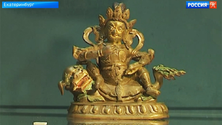 Выставка в Екатеринбурге рассказывает о буддийском искусстве XIV-XX веков