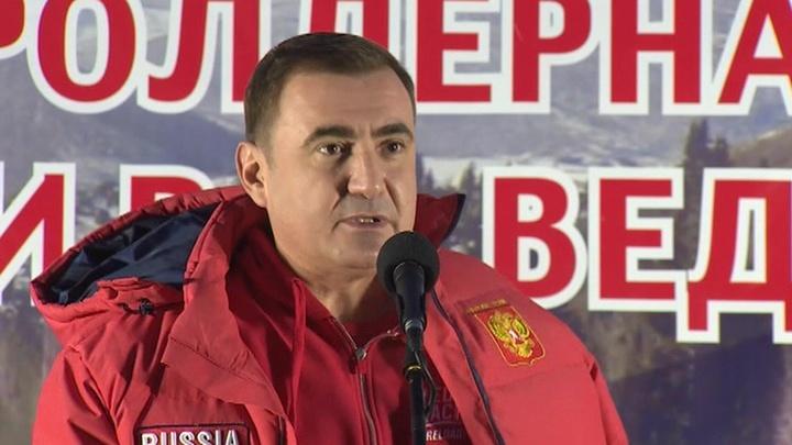 Алексей Дюмин торжественно открыл новый спорткомплекс в Туле photo