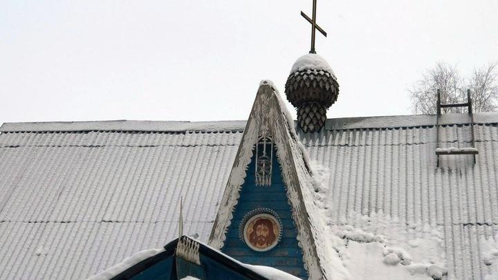Часть фасада Крестовоздвиженской церкви. Фото Леонида Варебруса