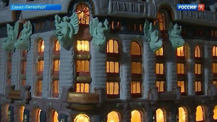 Петербургский кондитер создает необычные композиции из пряников