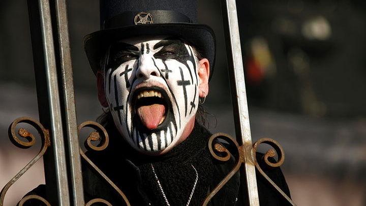 Кинг Даймонд,  хэви-метал-музыкант