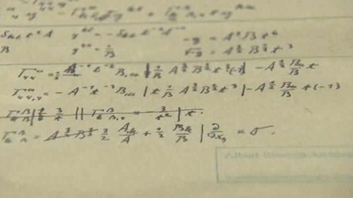 Жизнь как формула. В Иерусалиме выставили рукописи  Эйнштейна