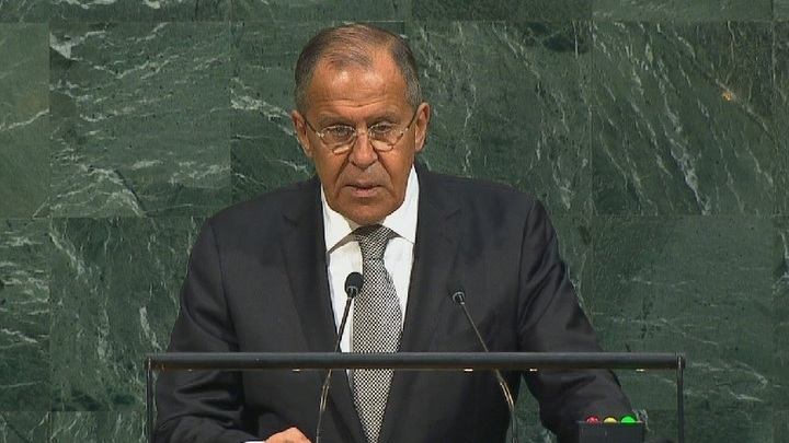 Сергей Лавров начал серию встреч на полях ГА ООН