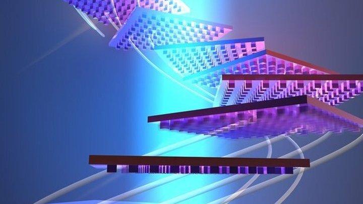 Наноразмерные узоры помогут объекту не соскользнуть с лазерного луча.