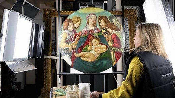 Копия шедевра Сандро Боттичелли оказалась настоящей картиной мастера